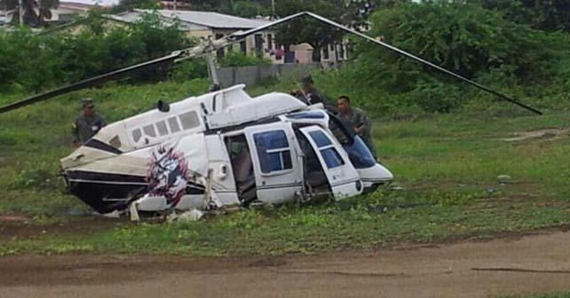 Photo of Accidente del helicóptero presidencial de Ecuador: tres muertos