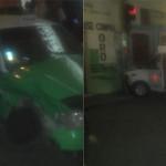Seis lesionados en choque entre ellos tres paramédicos y dos mujeres