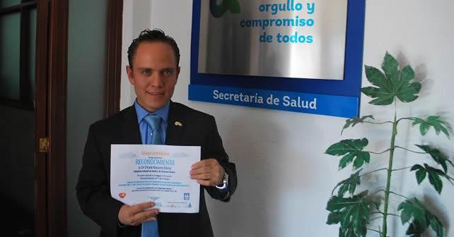 "Photo of Destaca doctor guanajuatense en concurso ""Young Investigator"""