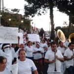"""I love Chapo"": manifestantes a favor de la liberación del líder del Cártel de Sinaloa"