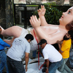"""""""Niño Dios"""" más grande del mundo está en Iztapalapa"""