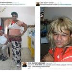 Roban celular a líder panista y exhiben sus fotos vestido de mujer