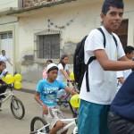 A pasear en bici en Abasolo