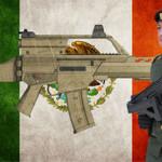 Serpiente de Fuego, el fusil hecho en México