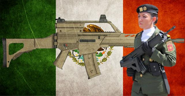 Photo of Serpiente de Fuego, el fusil hecho en México