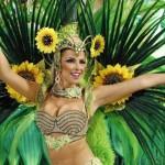 Inicia Carnaval brasileño lleno de samba y disfraces