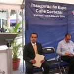 Promueven a comerciantes de la calle Cortazar