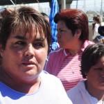 Se manifiestan antorchistas ante Miguel Márquez