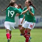 Goliza del Tri en el Mundial Sub 17 Femenil