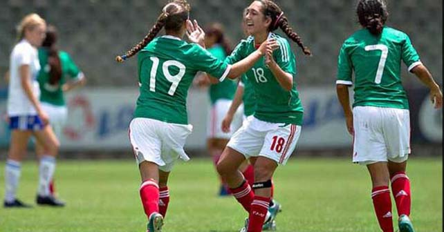Photo of Goliza del Tri en el Mundial Sub 17 Femenil