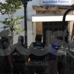 Ejército revisa a policías de Abasolo; incluyen al director de la corporación [Fotos-Video]