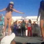Regidor perredista incita a bailarinas a desnudarse frente a niños