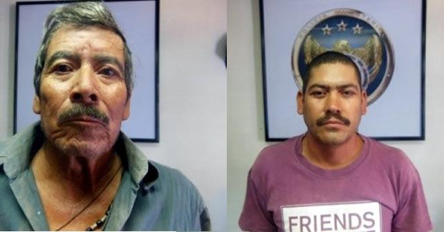 Padre e Hijo detenidos por asesinar a una mujer