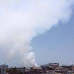 Incendio en Lázaro Cárdenas