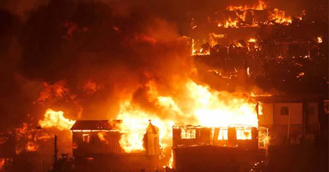 Photo of Incendio en Valpararíso, se reportan 12 muertos y 8 mil damnificados