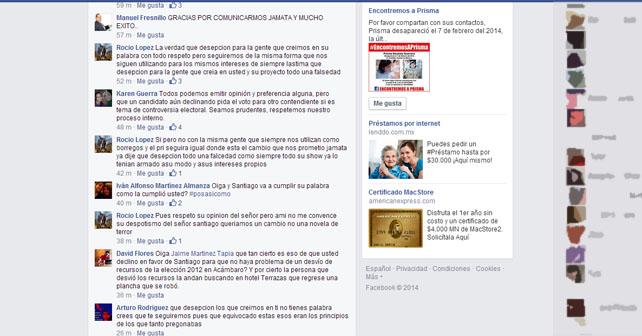 "Photo of ""Nauseabundo y mentiroso"": Jaime Martínez Tapia"
