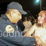 Granaderos golpearon a manifestantes de la #LeyTelecom, la CDHDF presenta una queja de oficio