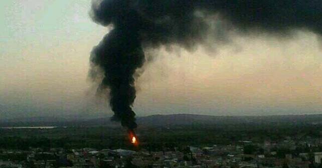 Photo of Controlan incendio en ducto de Pemex, ocasionado por una toma clandestina