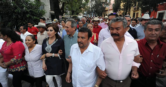 Santiago García nuevo dirigente del PRI en Guanajuato FOTO: Asi sucede (Facebook)