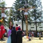 Viernes Santo, la representación del Vía Crucis de Cristo