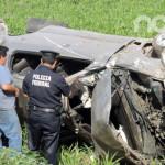 Adolescentes pierden la vida en accidente automovilístico en Pénjamo