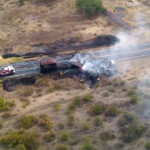 Choque de camiones deja un muerto en la Valle de Santiago-Salvatierra