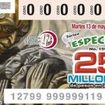 """""""Hidalgo de Pénjamo"""" en billetes de lotería; Gobierno del Estado """"borra"""" a Jacobo"""