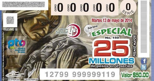 """Photo of """"Hidalgo de Pénjamo"""" en billetes de lotería; Gobierno del Estado """"borra"""" a Jacobo"""