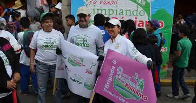 """Photo of """"Limpiemos Pénjamo"""", arroja 30 toneladas de basura en un día"""