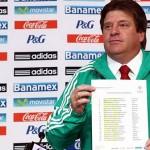 """El """"Piojo Herrera"""" anuncia la lista de sus 23 convocados para Brasil 2014"""