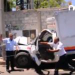 Un prensado por choque en Irapuato (video)