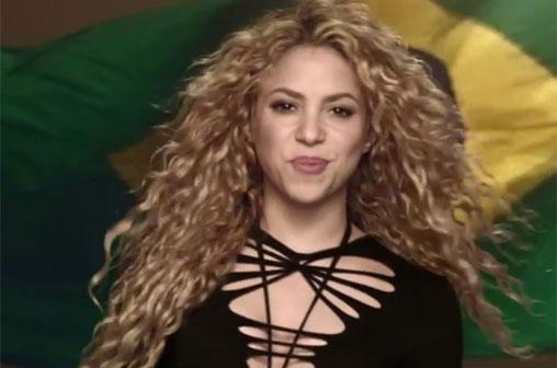 shakira lalala brasil