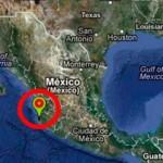 Sismo de 6.2 grados Richter en la costa de Jalisco