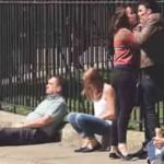 Cuando una mujer agrede a un hombre (video)
