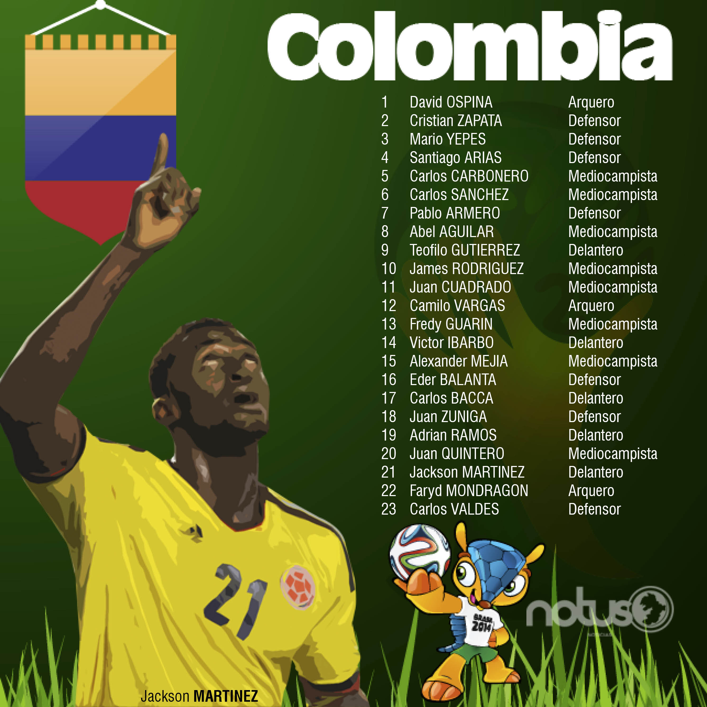 COLOMBIA OK