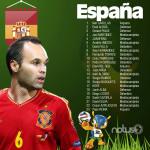 """España, """"La Furia Roja"""""""