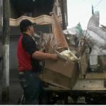Los abasolenses tiran 40 toneladas de basura
