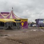 Comienza la función: Circo Zavara; activistas anuncian manifestación