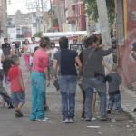 "Tras asalto, policías y ""pandilleros"" se enfrentan en Irapuato"