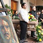 Dan el último adiós al maestro Raúl Zárate