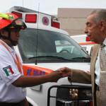 Entregan equipo a Protección Civil Irapuato