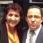Pepe Meza uno de los comunicadores distinguidos en el Senado