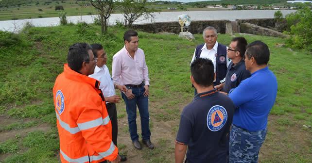 """Photo of Presas en Pénjamo """"llenas""""; sigue la alerta"""