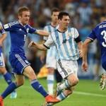 Argentina derrota 2-1 a Bosnia