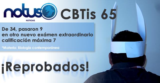 Photo of Ni con otra oportunidad pasaron: CBTis 65