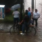 Lluvias inundan viviendas en Irapuato