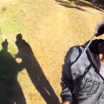 Ladrones quedan grabados al atracar a un ciclista