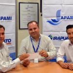 Apoya Japami a Colegio de Ingenieros Civiles