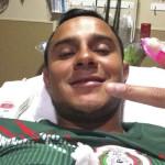 Luis Montes se recupera, estará inhabilitado durante seis meses