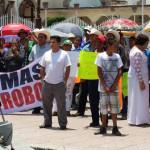 Piden cese de director de policía y alto a la inseguridad en Cuerámaro